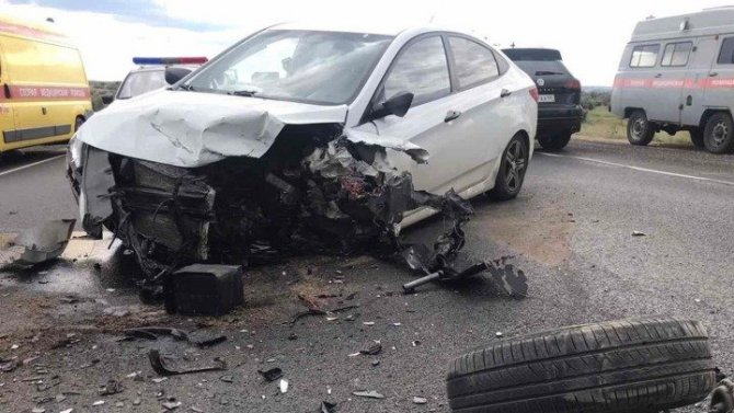 В ДТП в Татищевском районе Саратовской области пострадали 8 человек