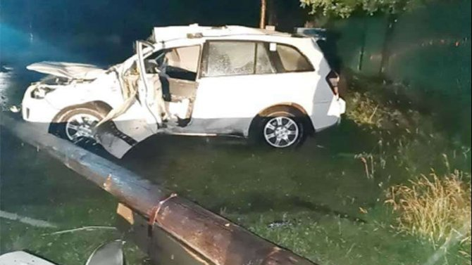 В Братске подросток без разрешения взял машину и отправил себя и друзей в больницу