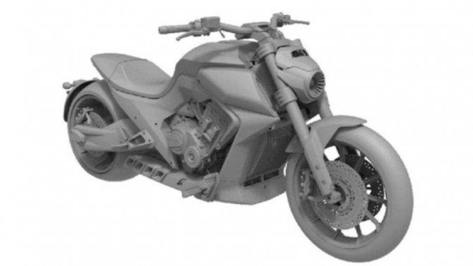 Китайцы запатентовали клон Ducati Diavel
