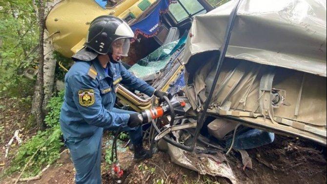 Четыре человека погибли в ДТП в Хабаровском крае