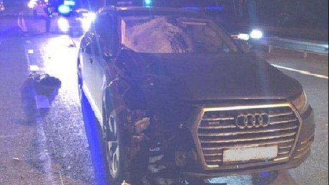Под Оренбургом Audi насмерть сбила пешехода
