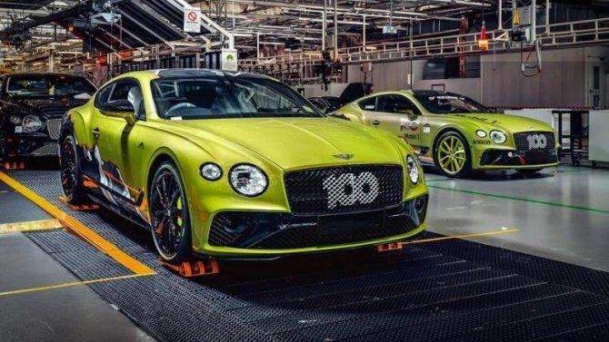 Начался выпуск специальной версии купе Bentley ContinentalGT