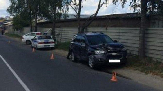 82-летний водитель серьезно пострадал в ДТП в Брянске