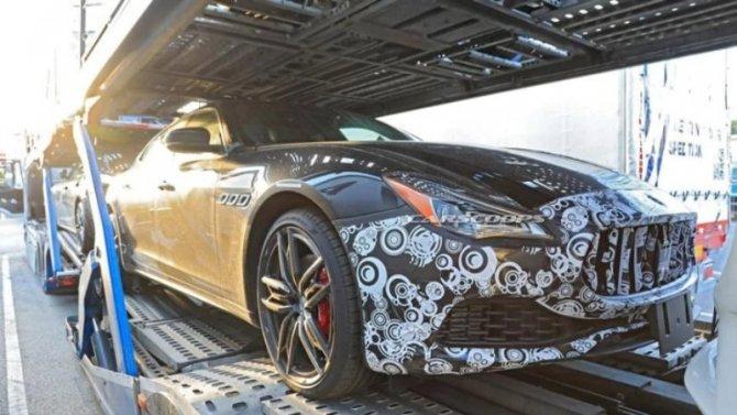 Новый Maserati Quattroporte: премьера незагорами