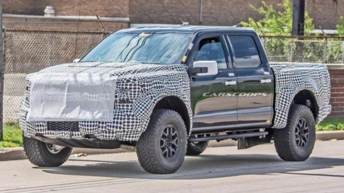 ВСША замечен новый Ford F-150 Raptor