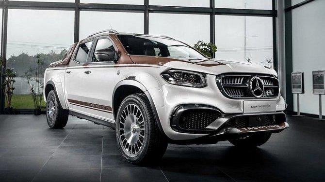 Mercedes-Benz: поднять паруса!