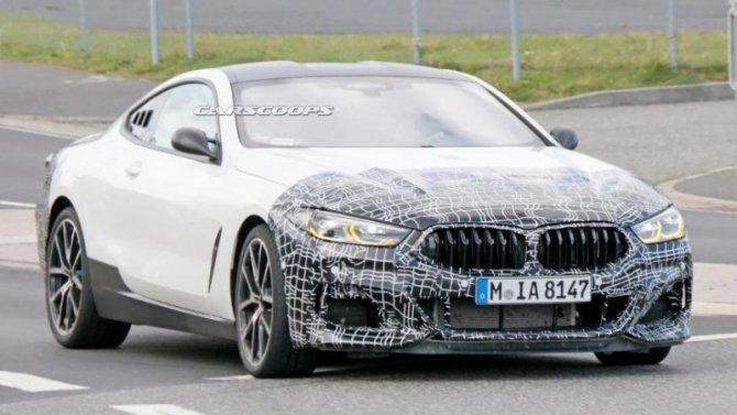 BMW 8-Series станет среднемоторным?