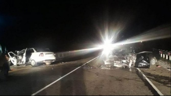Три человека погибли в ДТП в Туапсинском районе