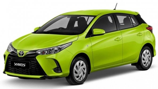 Представлена обновлённая Toyota Yaris