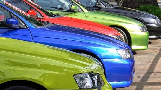 Зависитли цвет автомобиля отпола его владельца икакие цвета самые популярные