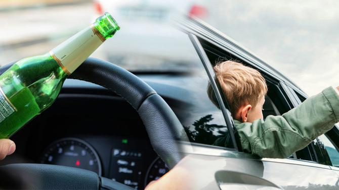 ВРоссии предлагают ужесточить наказание пьяных водителей, особенно вслучае, если они перевозят детей