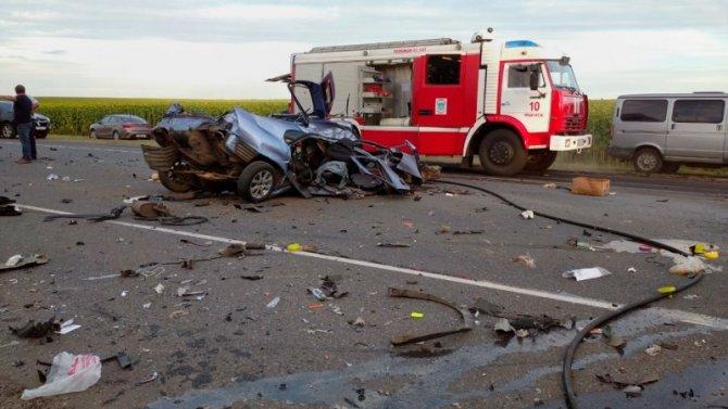 Пять человек погибли в ДТП в Орловской области