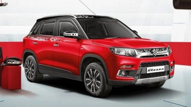 Кроссовер Suzuki Vitara Brezza будет выпускать иToyota