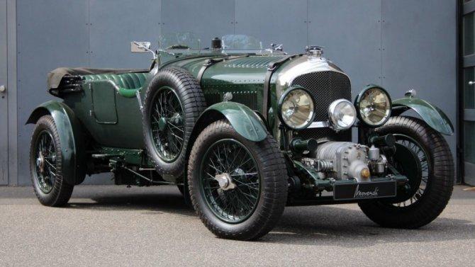 Bentley вновь выпустит свой легендарный ретро-спорткар