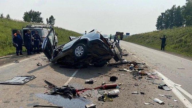 Четыре человека погибли в ДТП в Красноярском крае