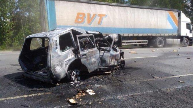 Четыре человека погибли в ДТП под Пензой
