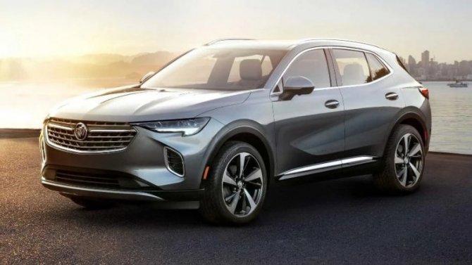 Новый Buick Envision: известны характеристики ицены