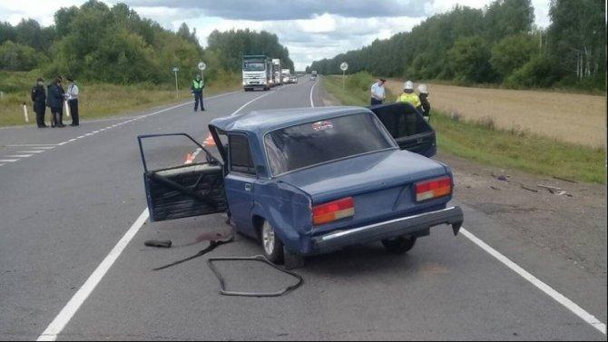 Муж с женой погибли в ДТП в Нижегородской области
