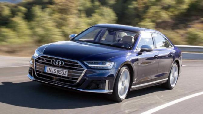 Новый Audi S8 удивил своей приёмистостью