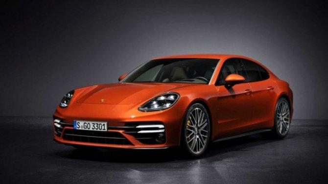 Стали известны рублёвые цены обновлённого Porsche Panamera
