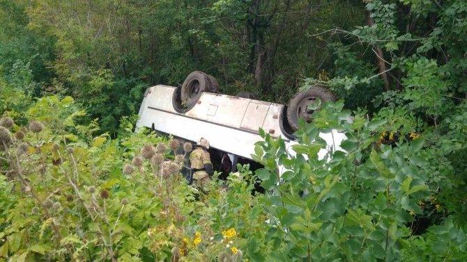 Под Оренбургом опрокинулся автобус – погибла пассажирка