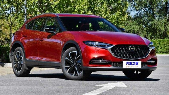 Кроссовер Mazda CX-4 стал бестселлером марки