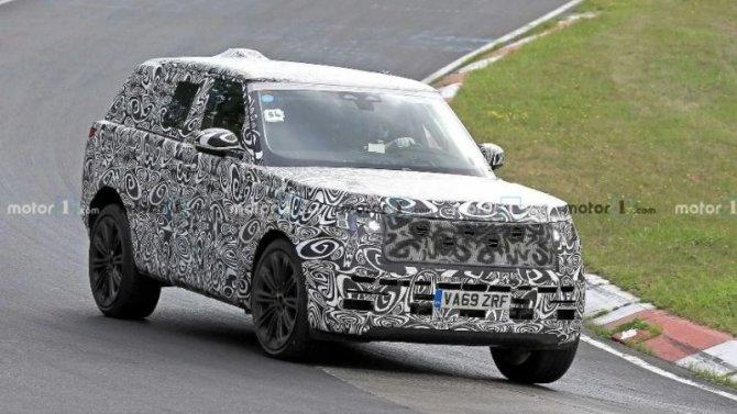 ВВеликобритании замечен новый Range Rover