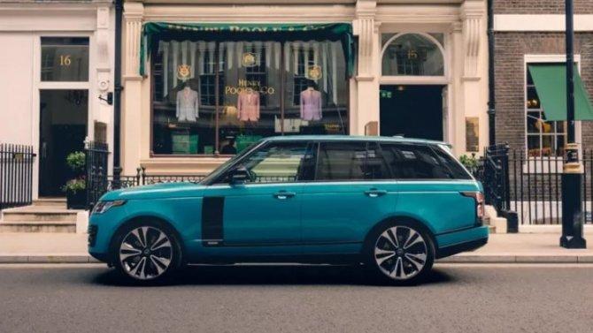 В честь 50-летия Range Rover создана эксклюзивная ткань