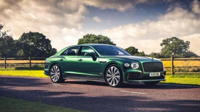 Bentley Flying Spur получил эксклюзивный обвес