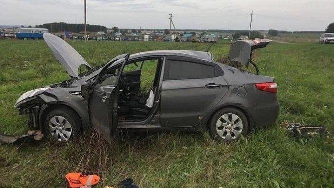 Водитель иномарки погиб в ДТП в Башкирии