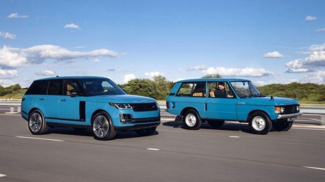 Известны рублёвые цены наRange Rover вюбилейном исполнении