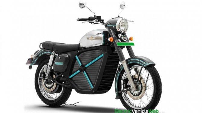 Опубликованы изображения электроцикла Jawa