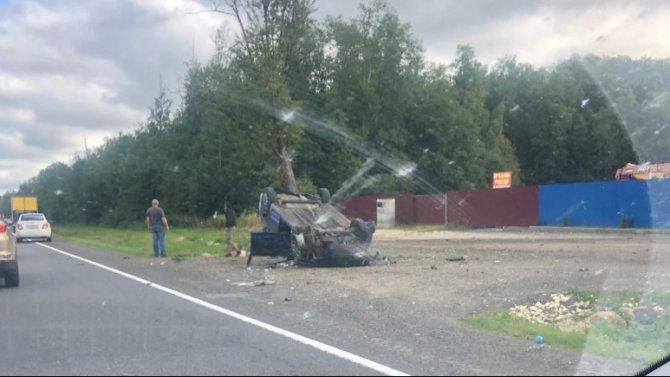 Молодой водитель погиб в ДТП в Гатчинском районе Ленобласти