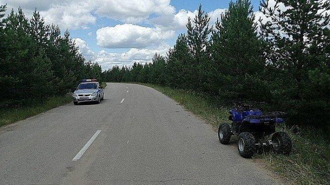 В Самарской области умер мальчик, попавший в ДТП с квадроциклом