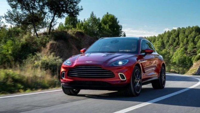 Изменён срок начала поставок вРоссию Aston Martin DBX