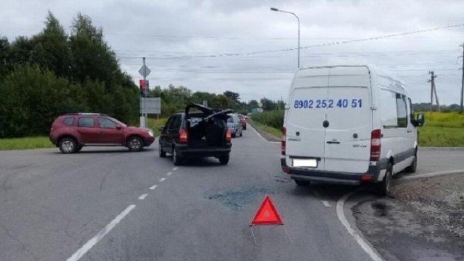 8-летний мальчик пострадал в ДТП в Калининграде