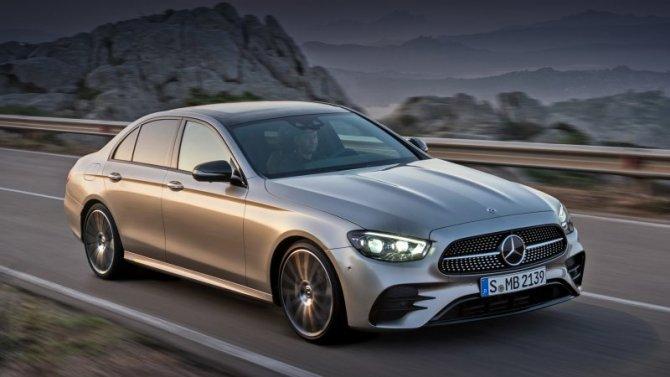 В России началась сборка рестайлинговых Mercedes-Benz E-Кlassе