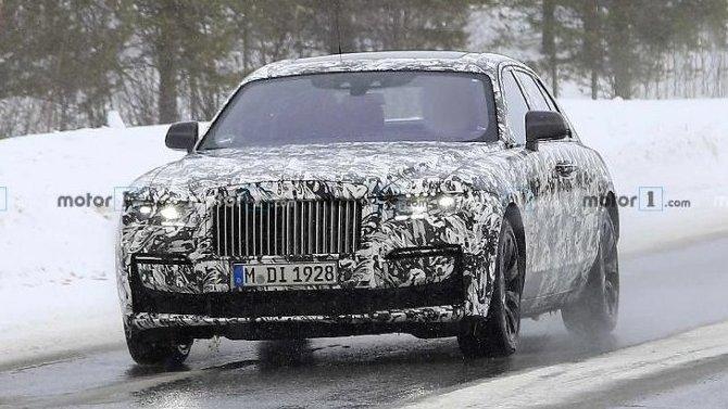Как обновится Rolls-Royce Ghost