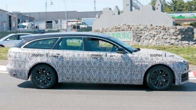 Обновлён универсал JaguarXF Sportbrake