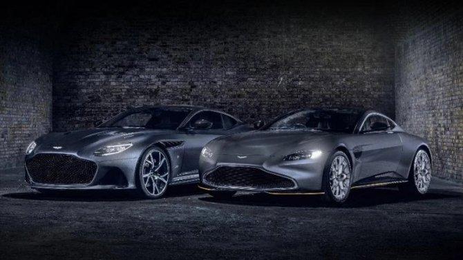 Aston Martin представил «джеймсбондовские» версии двух своих моделей