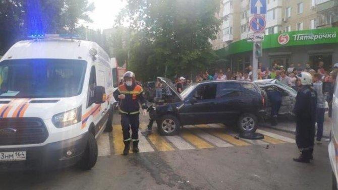 Два человека пострадали в ДТП в Саратове