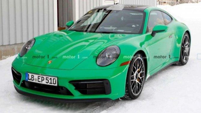 На «Нюрбургринге» появился новый Porsche 911