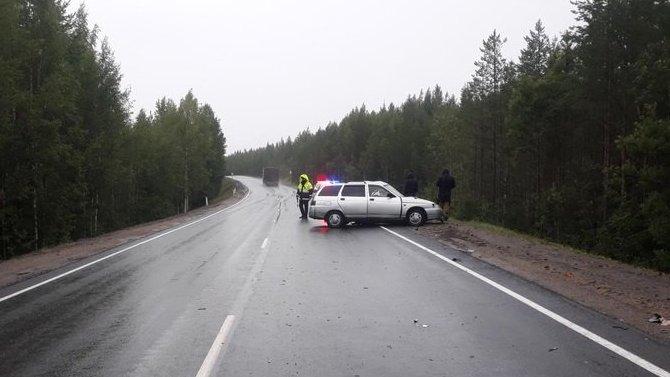 Женщина погибла в ДТП на трассе «Кола» в Карелии
