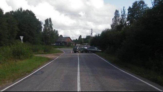 Женщина и ребенок пострадали в ДТП в Тверской области