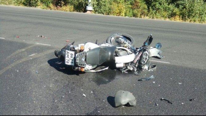 Мотоциклист погиб в ДТП во Всеволожском районе Ленобласти