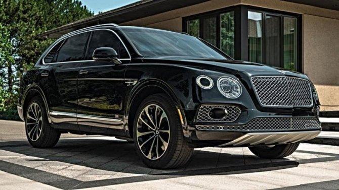 Вконце года вРоссию приедет обновлённый Bentley Bentayga