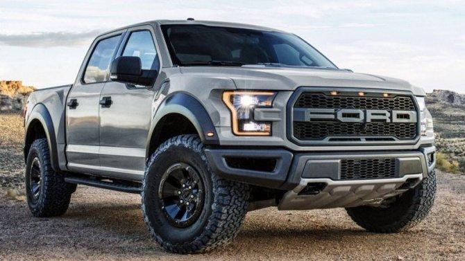 Известны цены внедорожной версии нового Ford F-150