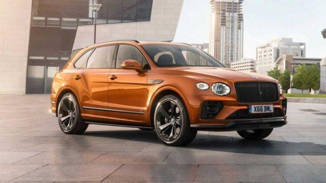 Bentley Bentayga обзаведется спортивной выхлопной системой и множеством аксессуаров