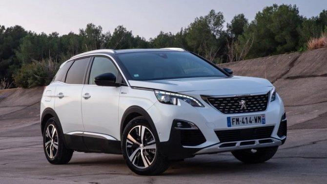 Выросли рублёвые цены наавтомобили Peugeot