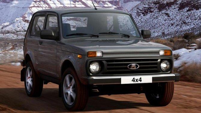 Lada 4×4 признана самым «долгоживущим» внедорожником